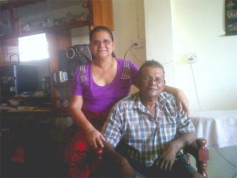 Jasoda and her  husband Kishore Lall