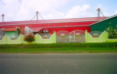 Roopan Ramotar's rice mill