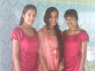 Rajshri, Reenica and  Radha Mansaran