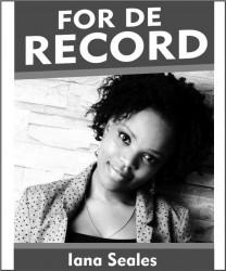 FOR DE RECORD BW