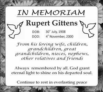 Rupert Gittens
