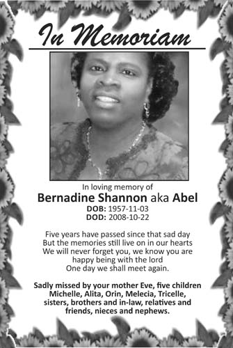 Bernadine Shannon aka Abel