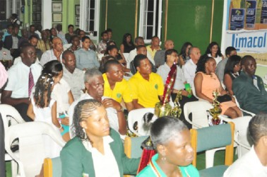 The audience at the GCB Awards ceremony