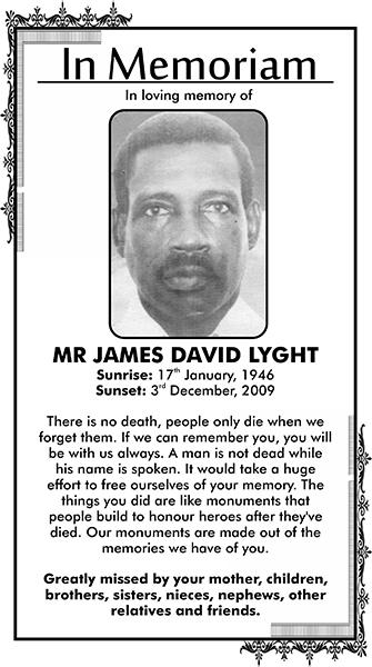 JAMES LYGHT