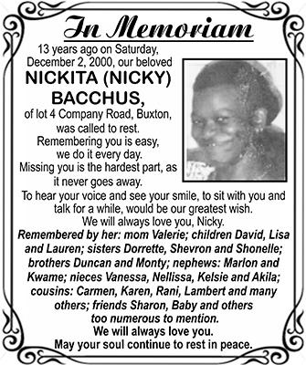 Nickita Bacchus