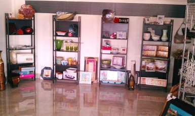 A section of the gift shop in Park Vue Hotel.