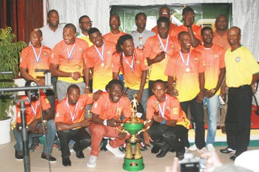 Joyous Winners Connection with the UDFA GT Beer Cup Trophy