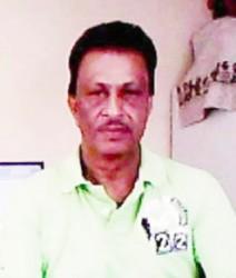 Upper Corentyne Chamber President Krishnanand Jaichand
