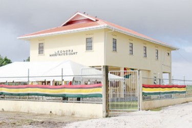 The newly-built Leonora Magistrate's Court (Arian Browne photo)