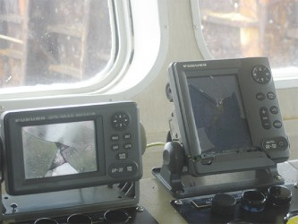 Some of the equipment that was damaged