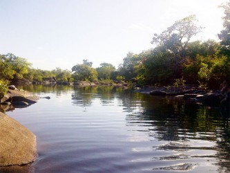 The Rupununi River