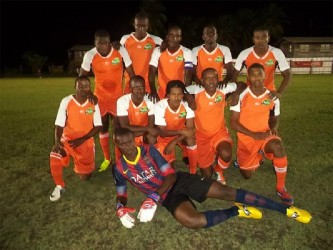 Members of the current generation of Fruta Conquerors FC