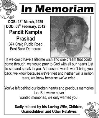 Pandit Kampta Prashad