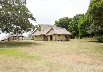 A traditional house at Annai