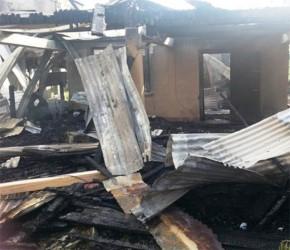 Hemchand Hemraj's destroyed home