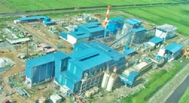 The Skeldon sugar factory