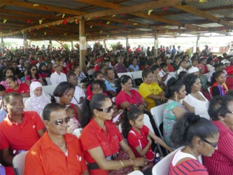 A section of the gathering at Babu John