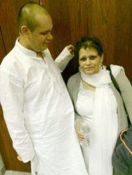 Terry and Seeta Pitamber (CBC News photo)