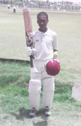 Joshua Persaud scored a scintillating century to provide GNIC with a huge margin of victory.
