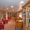The library onboard the MV Minerva (GINA photo)