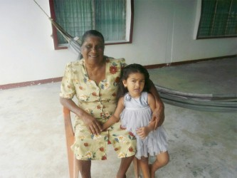 Deena and her granddaughter