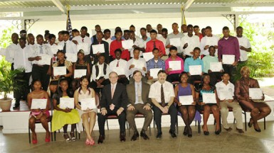The SKYE graduation (US embassy photo)
