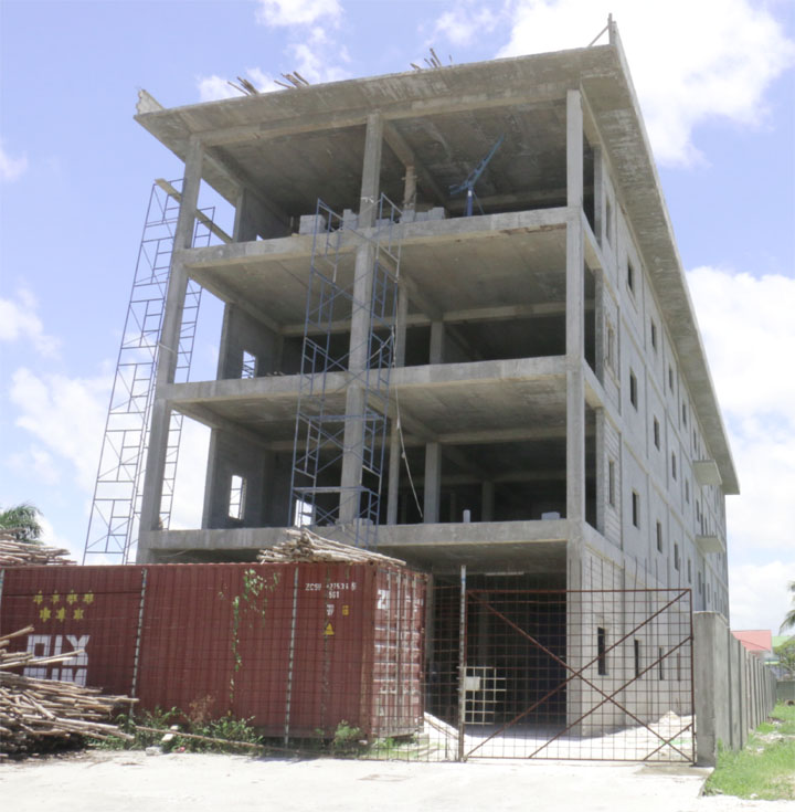 no soil test was required for medium high rise buildings before
