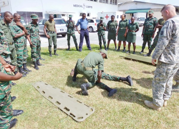 25 gdf medical corps members benefit from us lifesaver for Consul training