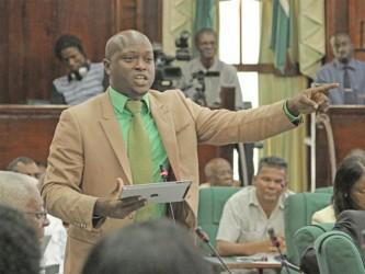 APNU Member of Parliament James Bond