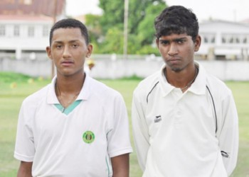Kemol Savoury and Sunil Singh half centuries helped Georgetown register victory over East Bank on Tuesday at the DCC ground.