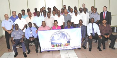 Participants of the course with trainers