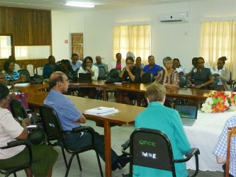 Participants at the workshop (Ministry of Education photo)