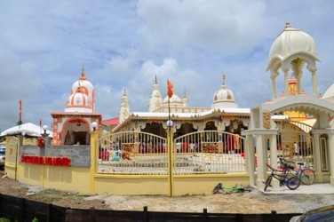 The Sri Krishna Mandir located at Gay Park, Greater New Amsterdam, Berbice (GINA photo)