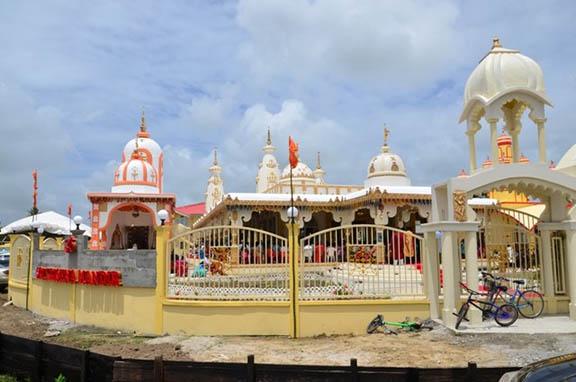 Image result for Krishna mandir New Amsterdam, Guyana