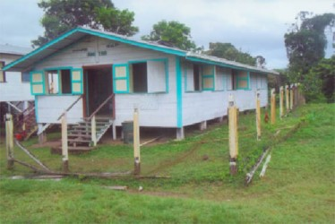 The Chenapau health centre is in need of repairs.