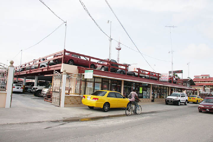 Guyana s first two storey car park elevates Parika. Guyana s first two storey car park elevates Parika   Stabroek News