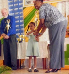 Lima Sands Nursery School received a special prize at the National Science, Mathematics and Technology Fair 2014
