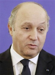 French Prime Minister Laurent Fabius