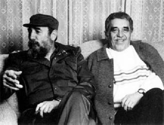 Fidel Castro and Gabriel Garcia Marquez