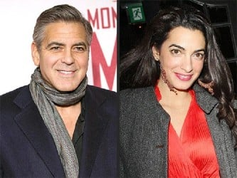 Clooney and Alamuddin