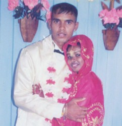 Vickram Ramdin  and Nandanie Mohan