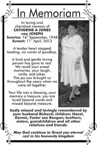 Catherine Jones nee Joseph