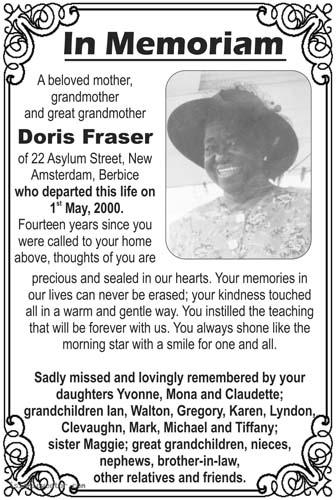 Doris Fraser