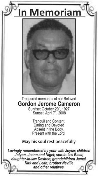 Gordon Cameron
