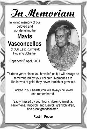 Mavis Vasconcellos
