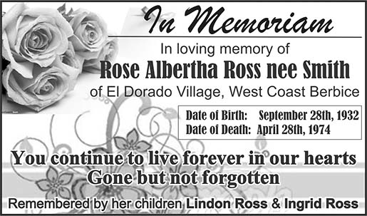 Rose Albertha Ross