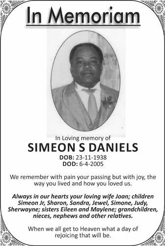 Simeon Daniels