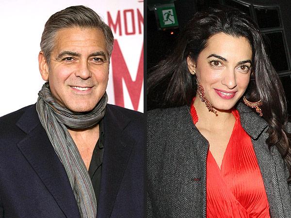 Clooney, 52, and Alamuddin, 36