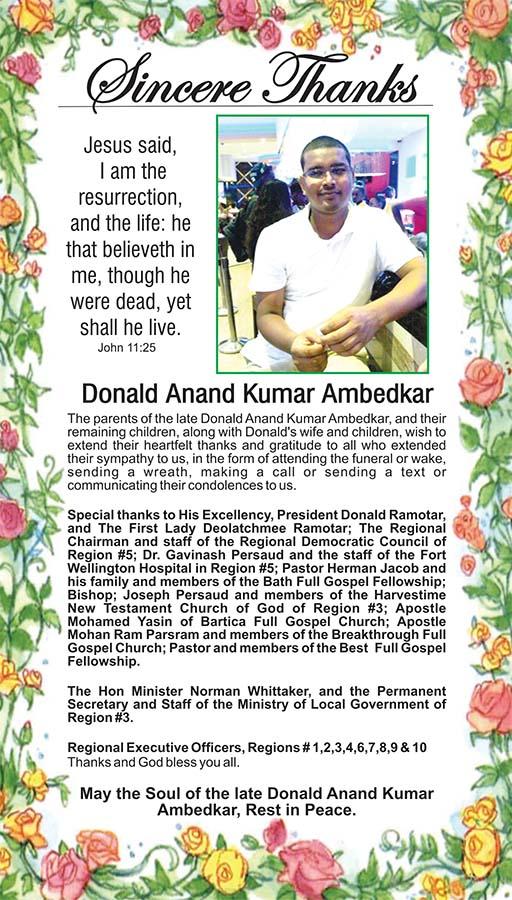 Donald Anand Kumar Ambedkar
