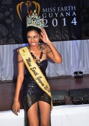 Ramcharan, Miss Earth Guyana